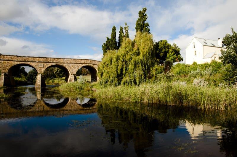 Richmond Bridge - la Tasmania - l'Australia immagini stock libere da diritti