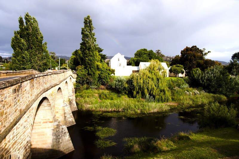 Richmond Bridge - la Tasmania - l'Australia fotografie stock