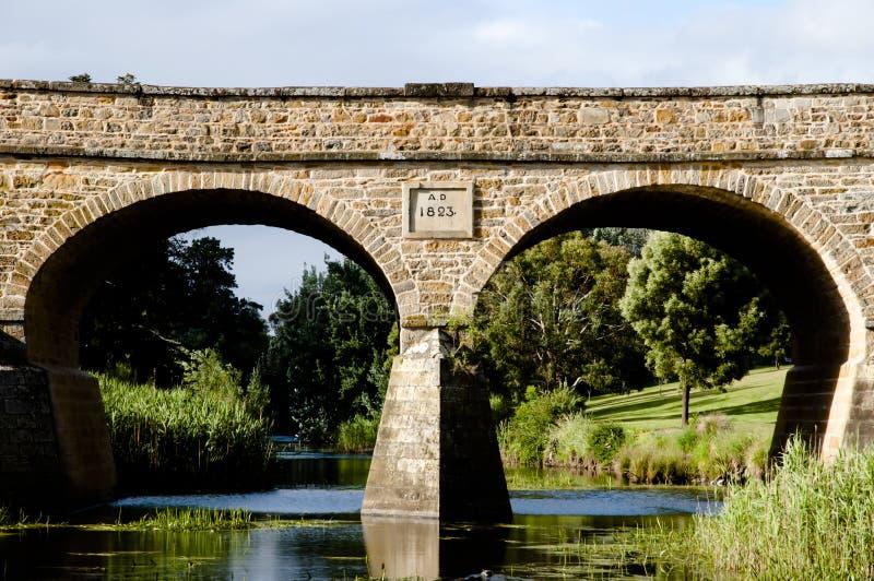 Richmond Bridge - la Tasmanie - Australie image stock