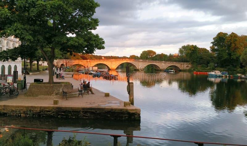 Richmond Bridge royalty free stock photo