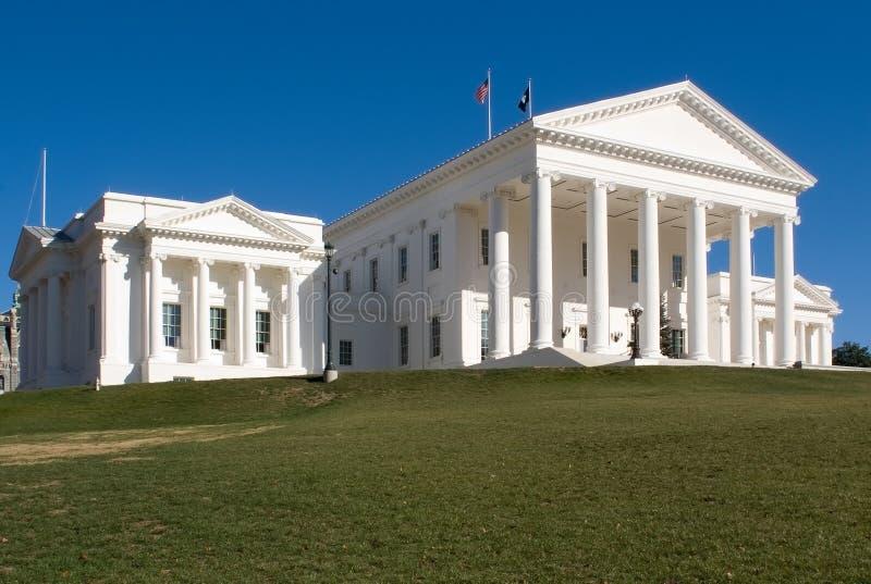 Richmond capitol hill va zdjęcia stock