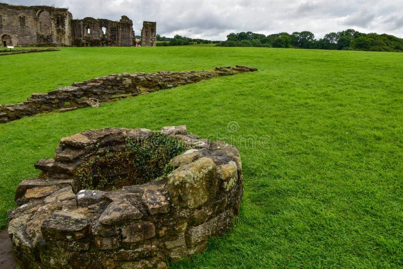 Richmond Castle in Richmond stockbilder