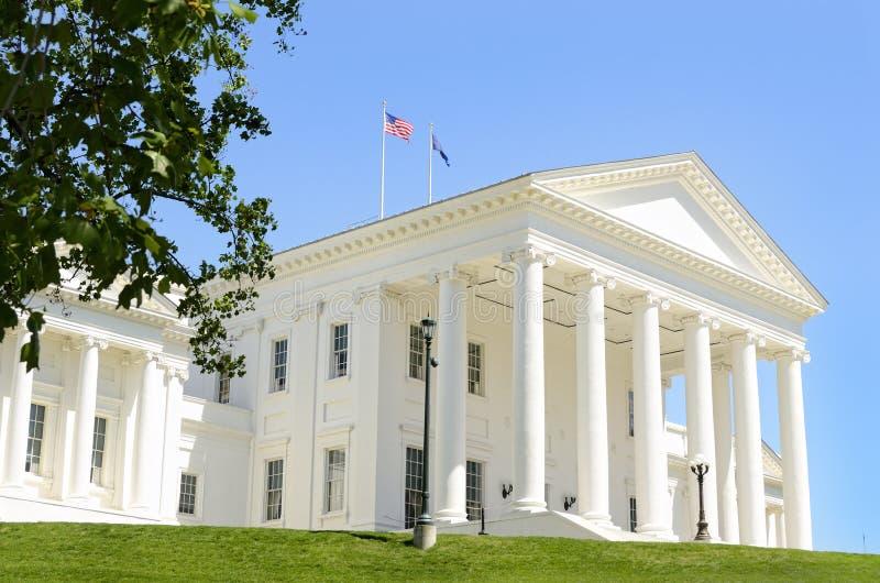 Richmond de construção de capital Virgínia imagem de stock royalty free