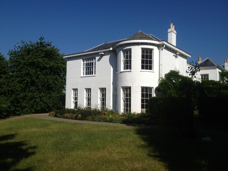 Richmond dom zdjęcia stock