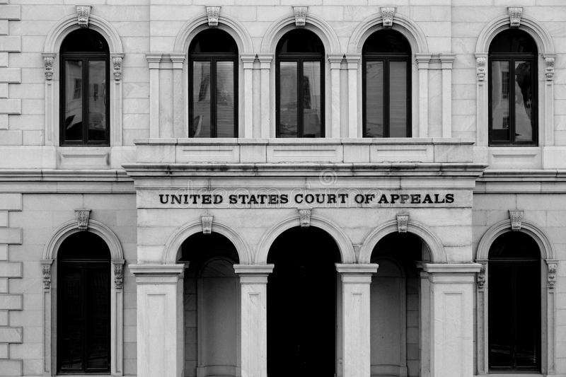 Richmond downtown. United states court of appeals, Richmond, Virginia royalty free stock image