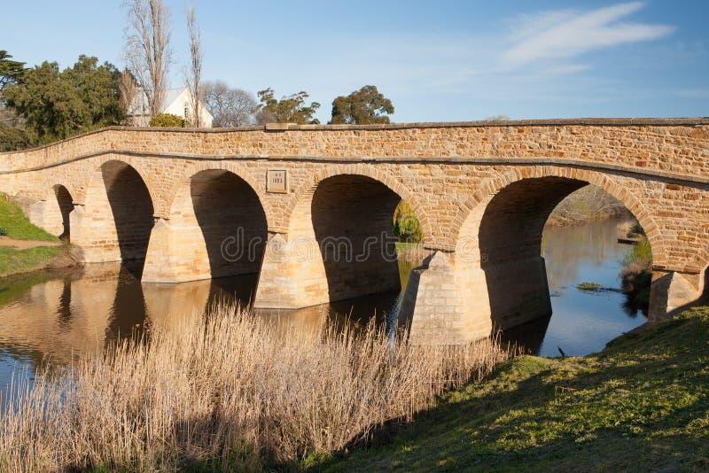 Richmond Historic Bridge immagine stock libera da diritti
