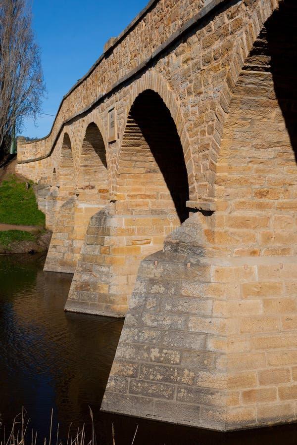 Richmond Historic Bridge immagini stock libere da diritti