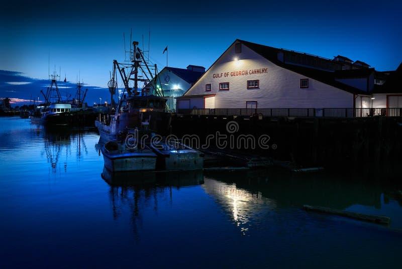 Richmond, kolumbiów brytyjska, Kanada â€/'Wrzesień 6, 2018: Zatoka Gruzja Cannery, Richmond, BC zdjęcie stock