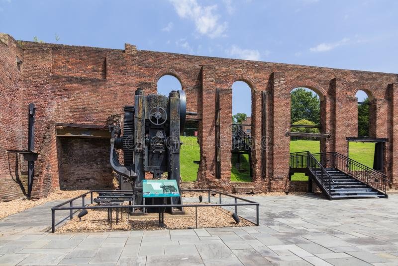 Richmond National Battlefield Park em Virgínia fotos de stock