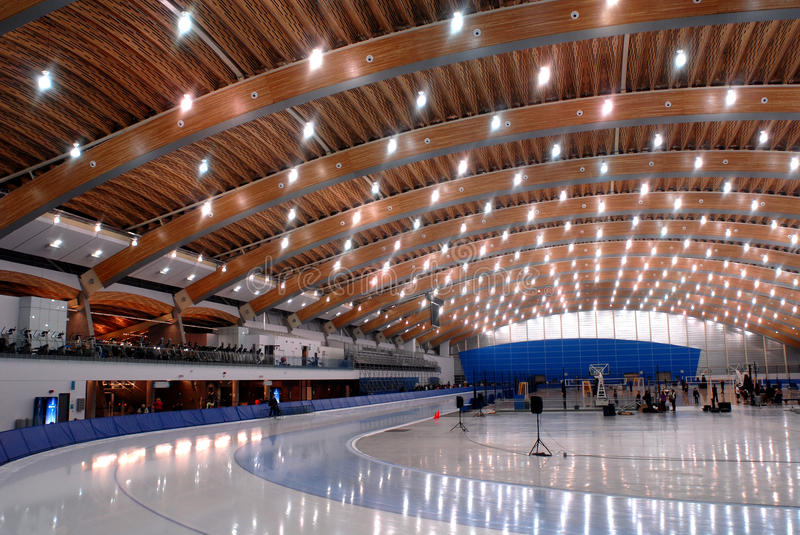 Richmond Olympic Oval Editorial Image