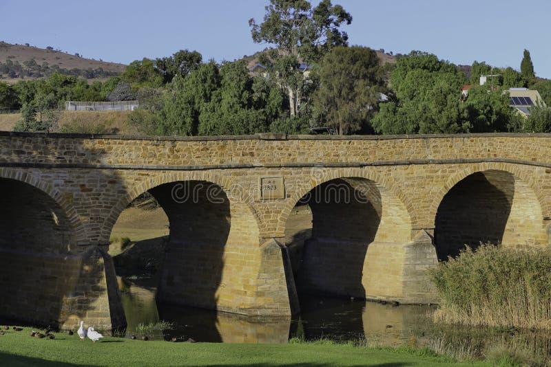 Richmond, Tasmanien stockfoto