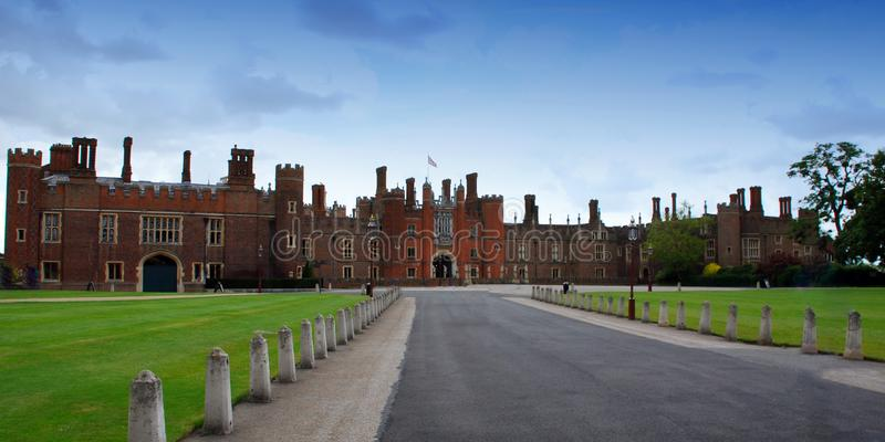Richmond-Upon-Thames / London, England, UK - June 30, 2014: Hampton Court Royal Palace. Henry VIII residence, London. royalty free stock photo