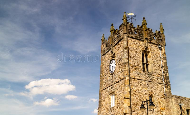 Richmond, United Kingdom - 07/25/2018: The Holy Trinity Church i. N Richmond, just outside of the Yorkshire Dales national park royalty free stock images