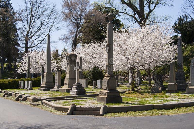 Richmond Virginia Hollywood Cemetery royalty free stock photography