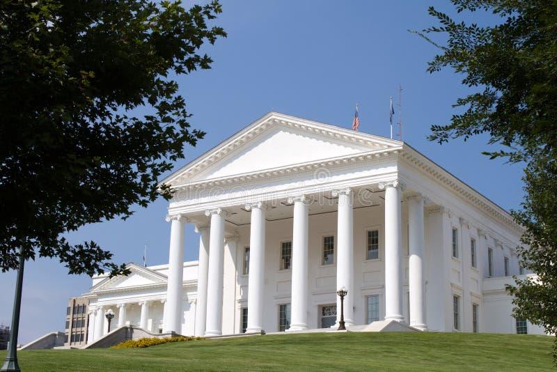 Richmond Virginia State Capital stock image