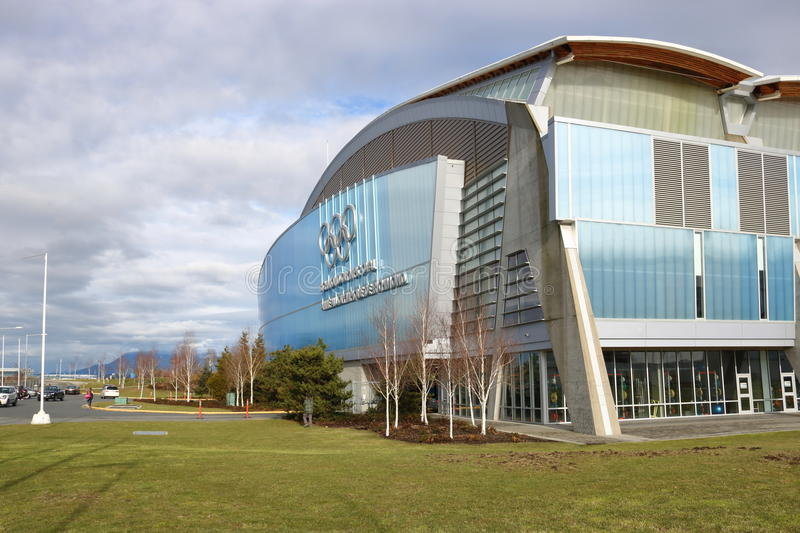Richmond 2010 Winter Olympic Oval Ice Rink stock photography