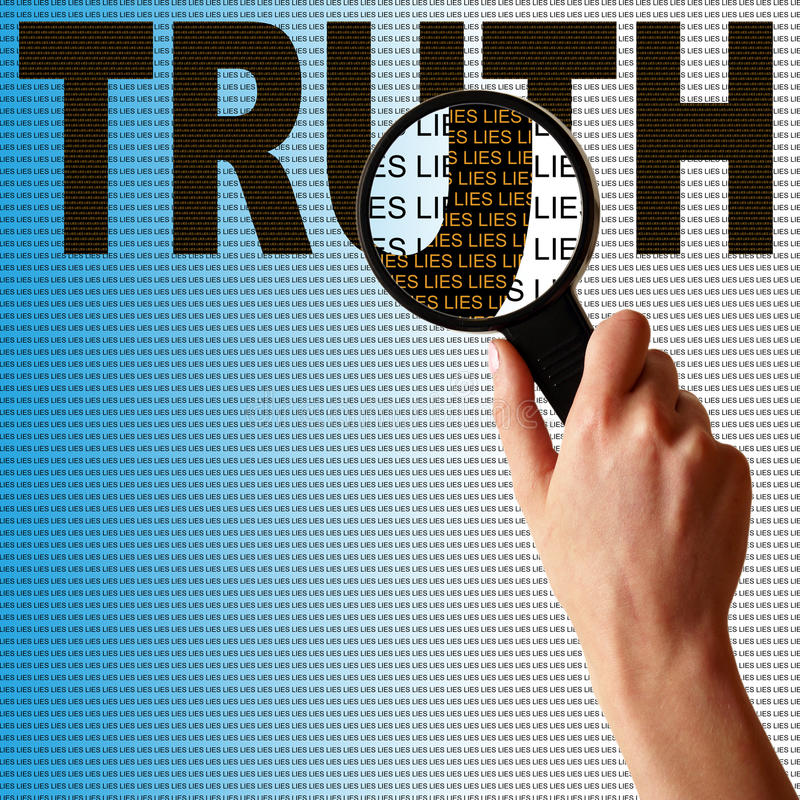 Richten Sie Lügen aus stockfotos