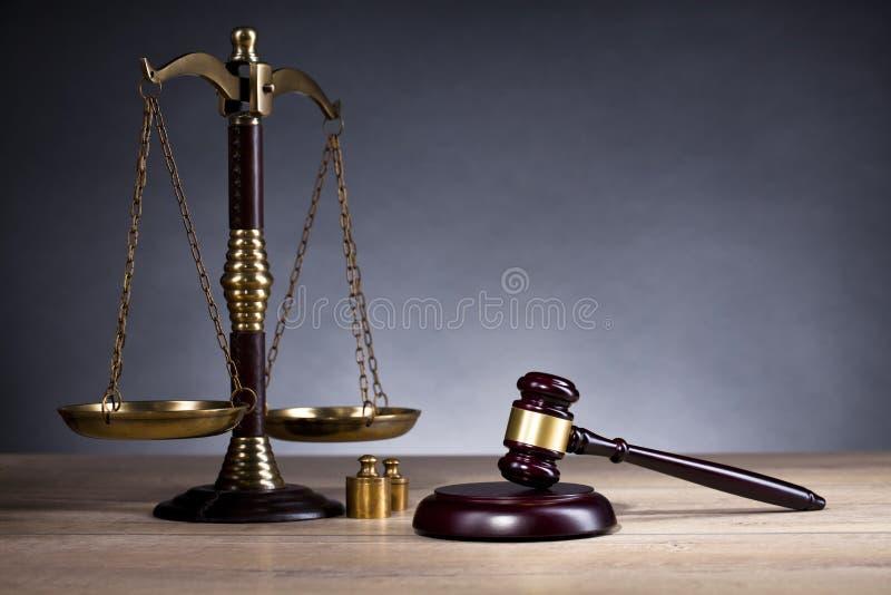 Richter ` s Hammer gesetz Richter ` s Büro Richterliche Entscheidung stockbilder