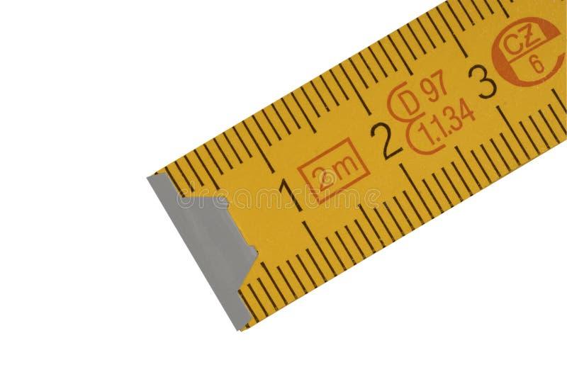 Richtlinie des gelben Tischlers stockfoto