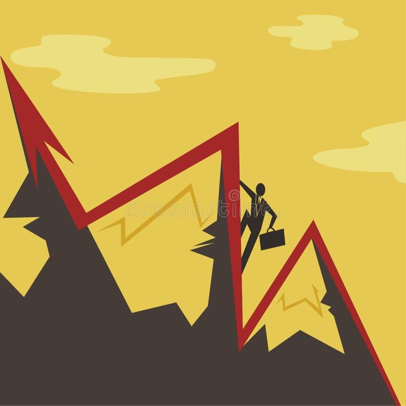 Richtung des Geschäfts stock abbildung
