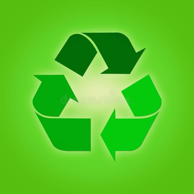 riciclaggio illustrazione vettoriale