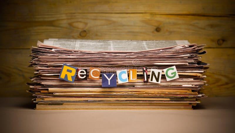 riciclaggio fotografia stock libera da diritti