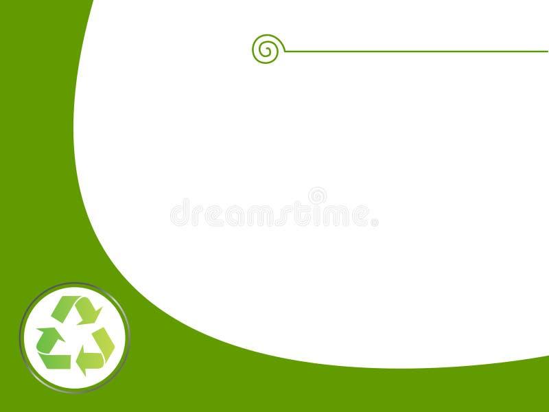 Download Riciclaggio Della Priorità Bassa Illustrazione di Stock - Illustrazione di pianta, moderno: 7312444
