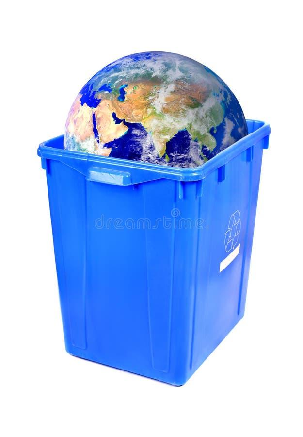 riciclaggio della terra immagini stock