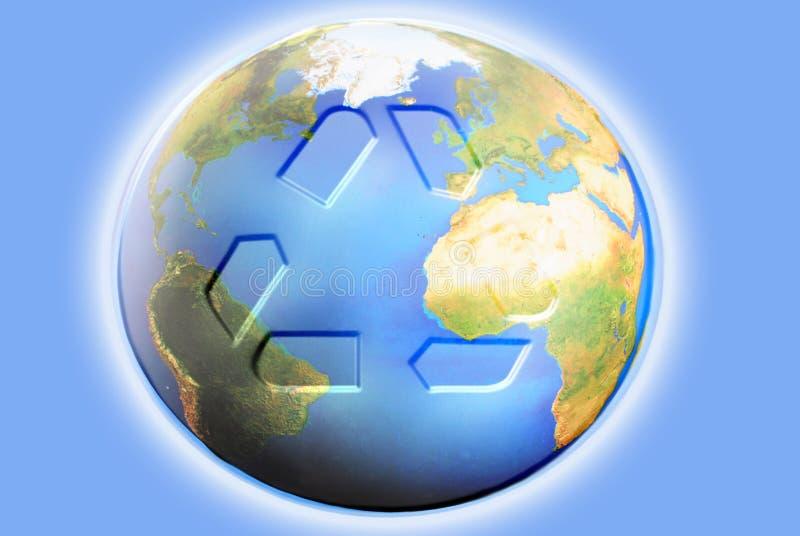 Riciclaggio della terra illustrazione vettoriale