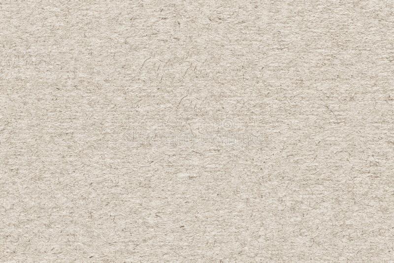 Ricicli il campione extra di struttura di lerciume dei cereali a grana grossa del bianco sporco di carta fotografia stock