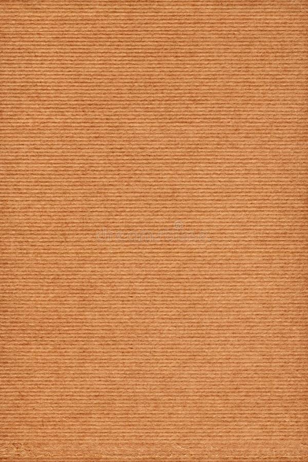 Ricicli la struttura grezza a strisce di lerciume della carta kraft di Brown fotografia stock