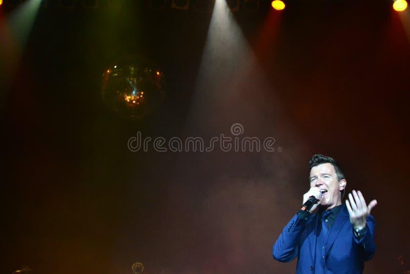 Rick Astley - South America Mini Tour royalty free stock photos