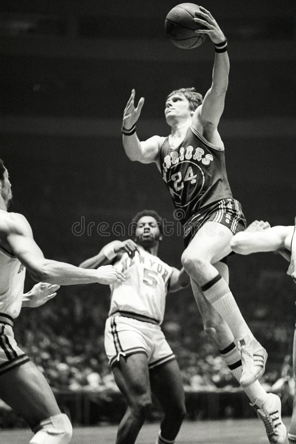 Rick Barry Golden State Warriors Hall de joueur de Hame photo stock