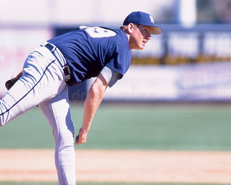 Rick Greene, Milwaukee Brewers lizenzfreie stockfotos