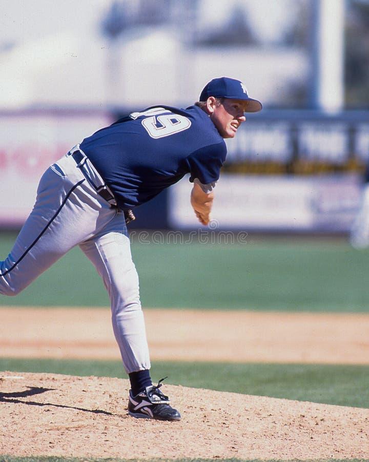 Rick Greene, Milwaukee Brewers lizenzfreie stockbilder