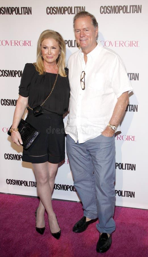 Rick Hilton y Kathy Hilton imagen de archivo libre de regalías
