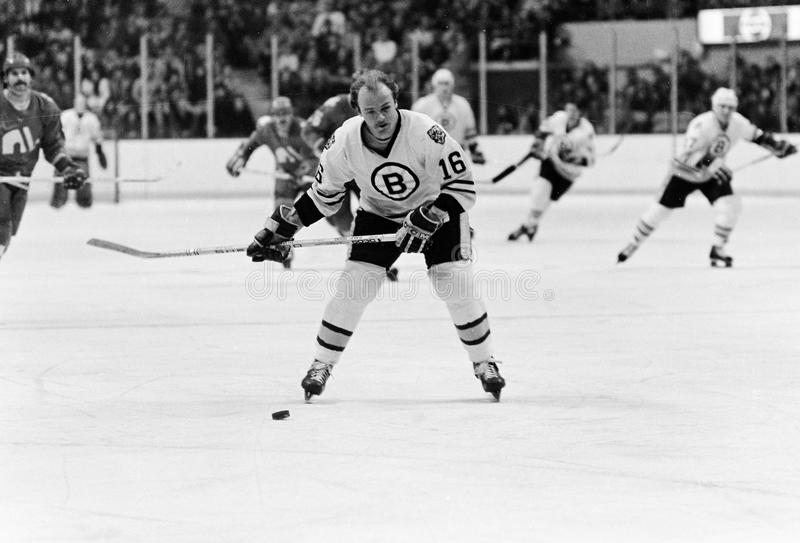 Rick Middleton Boston Bruins arkivbilder