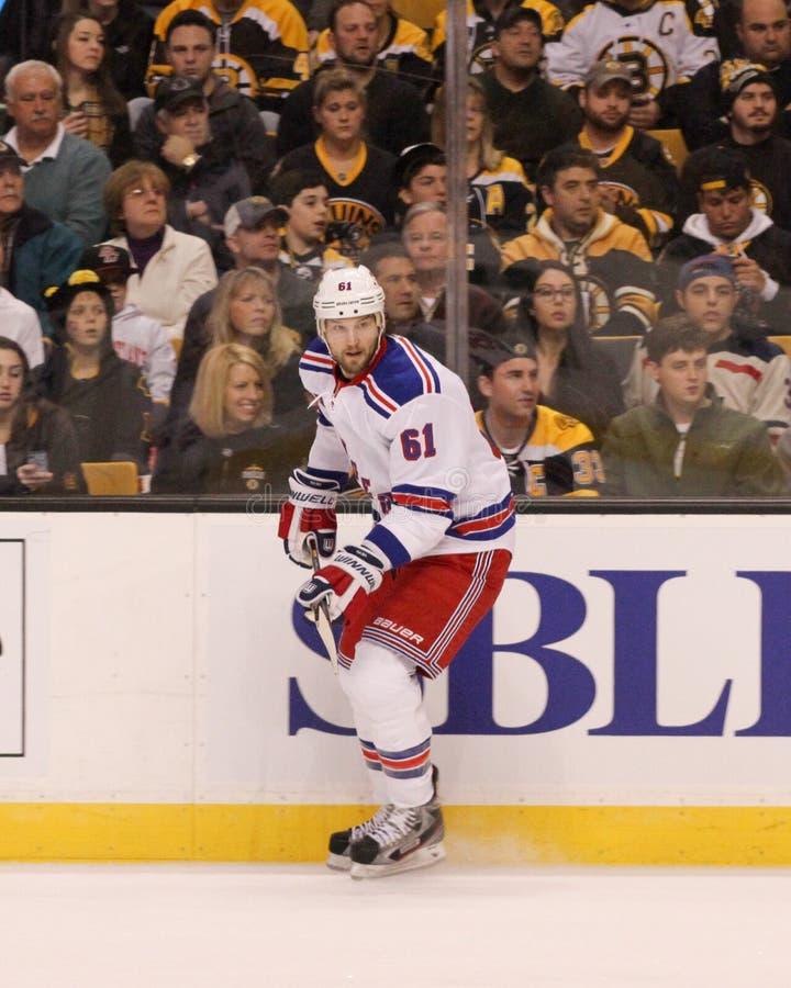 Rick Nash. New York Rangers forward Rick Nash #61 stock photography