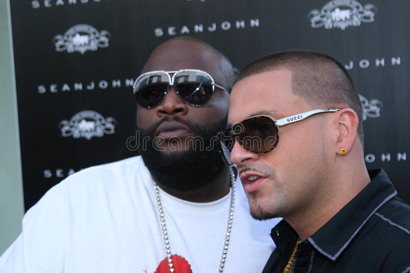 Download Rick Ross and DJ Pro Style editorial image. Image of rapper - 17125330