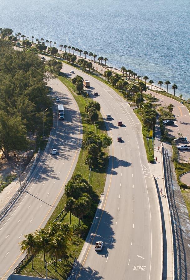 Download Rickenbacker Causeway stock image. Image of motorway - 24920827