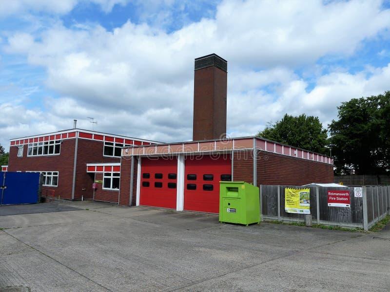 Rickmansworth-Feuerwache, Pfarrhaus-Straße, Rickmansworth stockfoto
