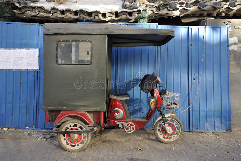Ricksha à Pékin images libres de droits