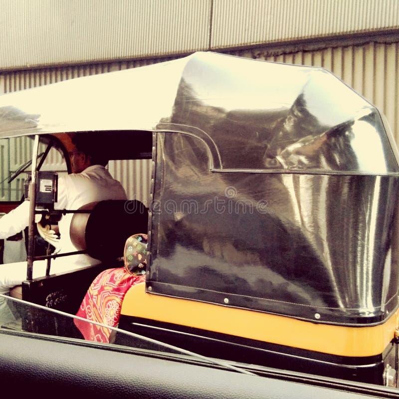 rickshaw stock foto