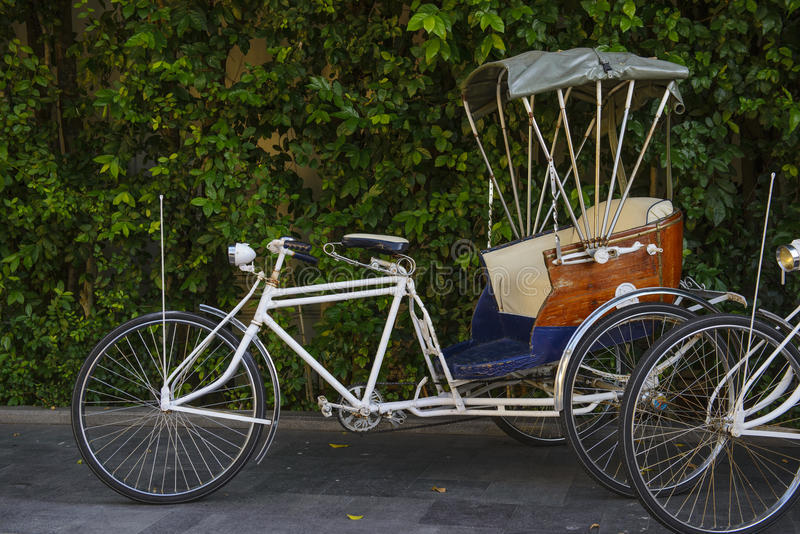rickshaw fotografia stock libera da diritti