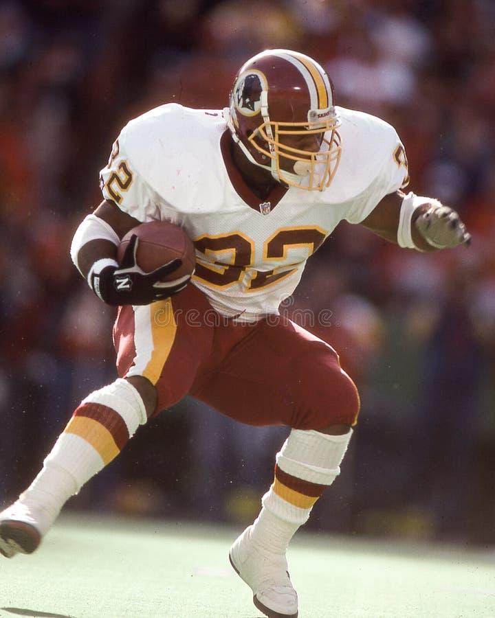 Ricky Ervins, Washington Redskins foto de stock royalty free