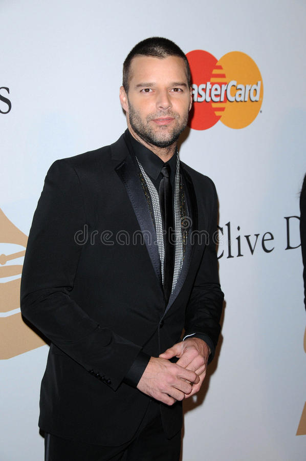 Ricky Martin images stock