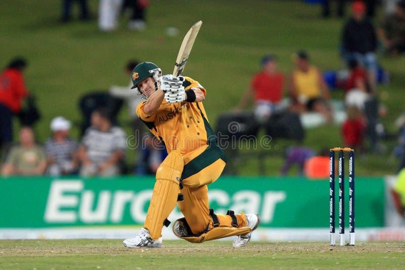 Ricky Ponting Australian Batsman fotografía de archivo
