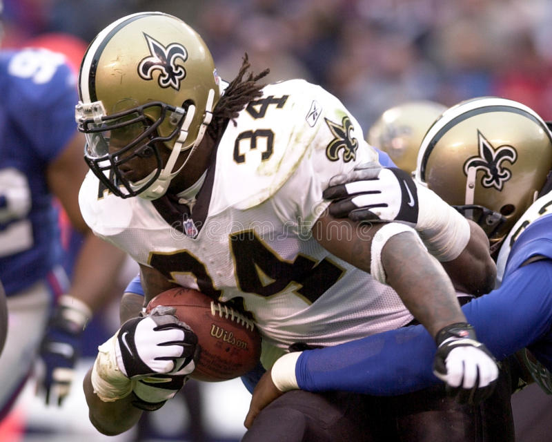Ricky Williams. New Orleans Saints RB Ricky Williams. (Image taken from color slide royalty free stock photos