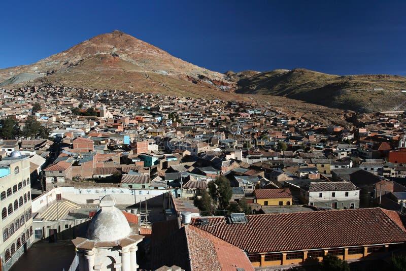 Rico de Potosi y de Cerro imagen de archivo libre de regalías