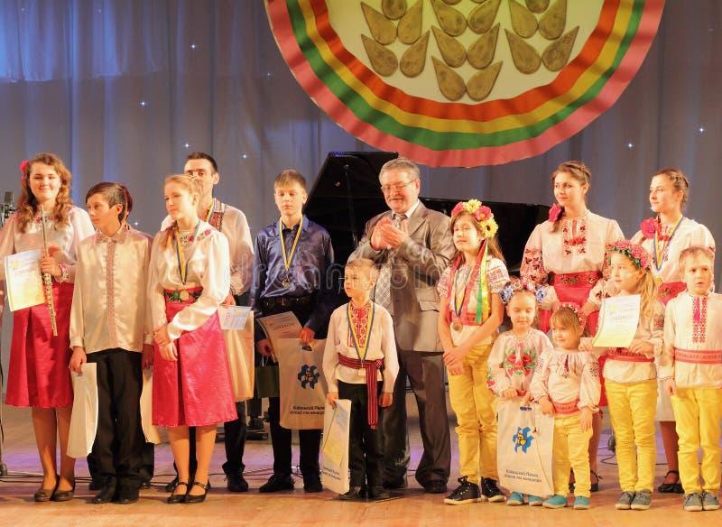 Ricompensa dei partecipanti del festival immagine stock libera da diritti
